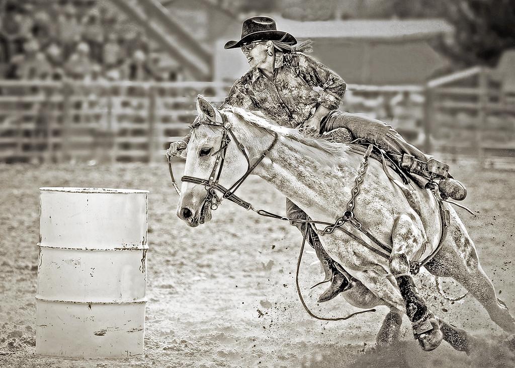 CUTTING CORNERS - Barrel racing at the rodeo