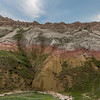 Badlands National Park Colorful Soil