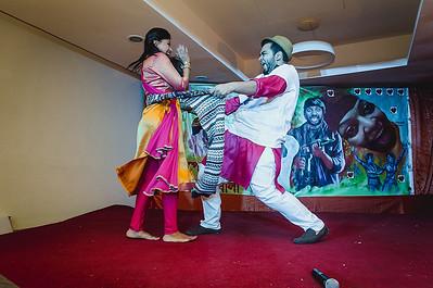 Gala Mehendi dance at Haldi in Dhaka Wedding
