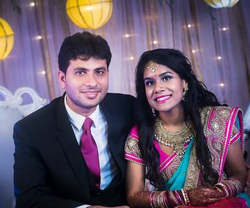 Top Wedding Reception Couple Portrait By Sanjoy Shubro In Dhaka Bangladesh