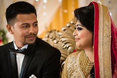 Best Wedding Reception Couple Portrait By Sanjoy Shubro In Chittagong