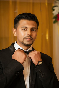 Gorgeous Wedding Reception Groom Portrait By Sanjoy Shubro In Kolkata