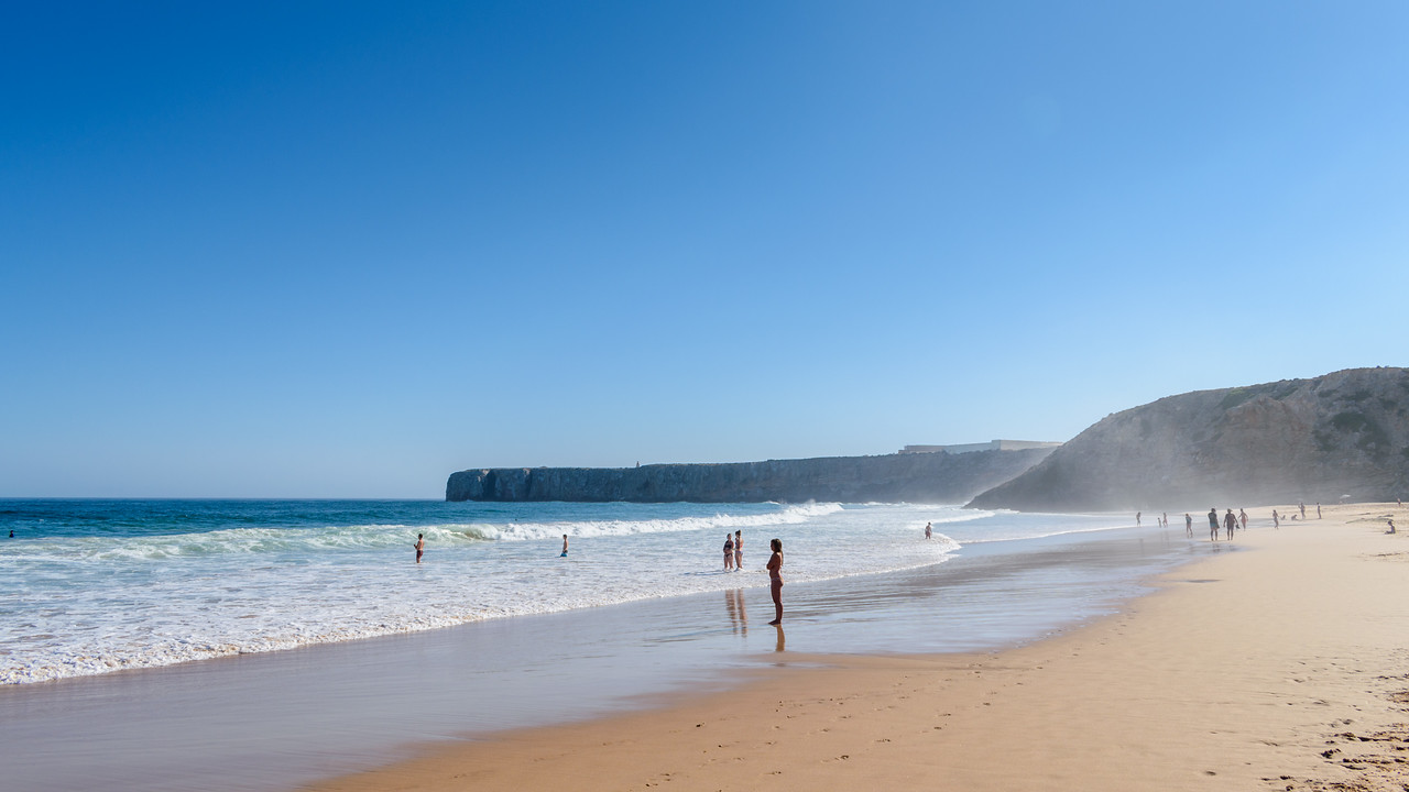 Praia at Sagres, Portugal