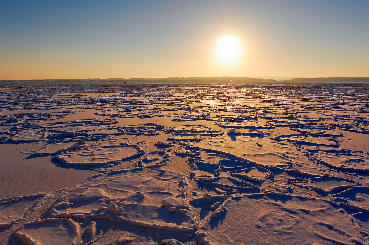 Sea of Okhotsk, off Abashiri, Hokkaido