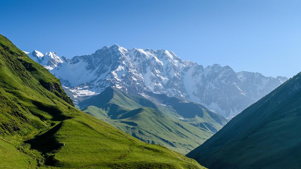 Mount Shkhara, Ushguli, Georgia