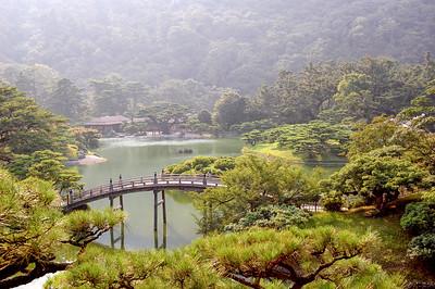 Ritsurin koen, Takamatsu