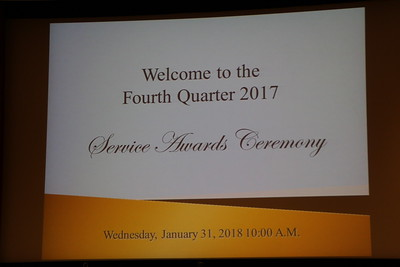 Fulton County 2017 Fourth QTR Service Awards