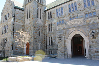 Fulton Hall Outside - Spring 2016