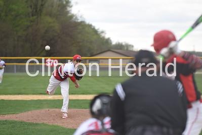 Fulton softball and baseball vs Orion 4-20-17