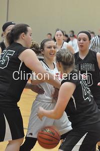 Fulton vs. West Carroll girls regional basketball (2-8-16)