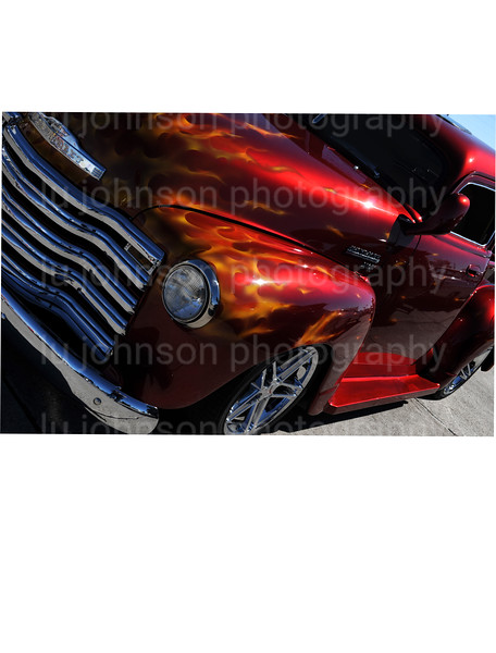 Turn a regular photo of an awesome restored vehicle into a Business Card or Contact card that will get some real attention