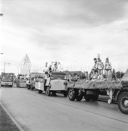 Jubilee Carnival in Gatehouse Road, July 2nd 1966