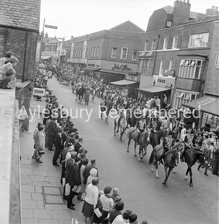Jubilee Carnival in High Street, July 2nd 1966