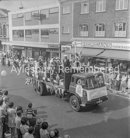 Carnival in Buckingham Street, July 1971