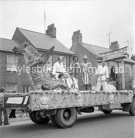 Carnival in Buckingham Road, July 1972