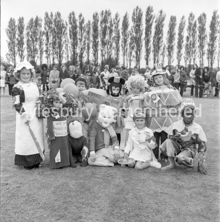 Carnival in Edinburgh Playing Field, July 1972