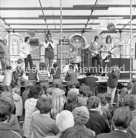 Carnival in Market Square, July 1972