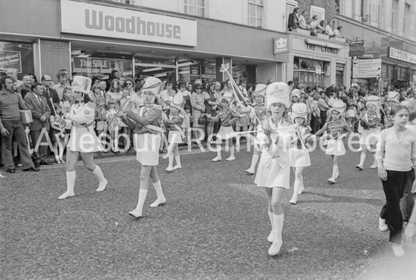 Carnival in Market Square, July 1973