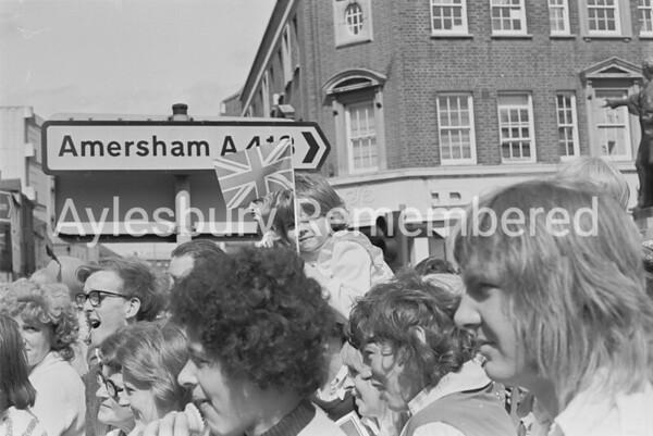 Carnival in Market Square, July 1974