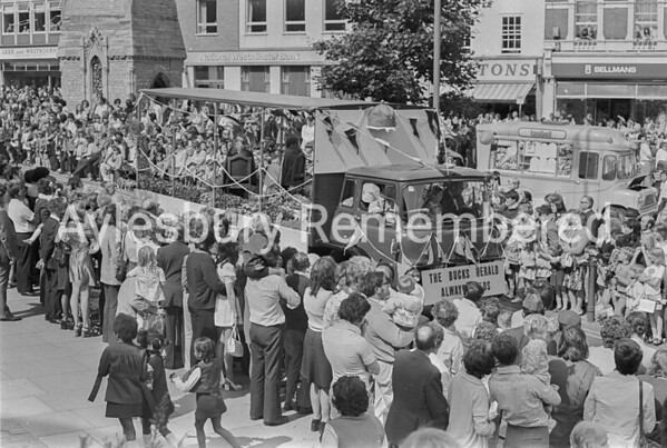 Carnival in Market Square, July 1974