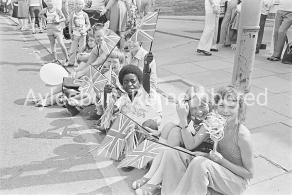 Carnival in Buckingham Street, July 1976