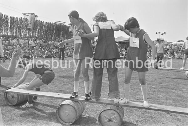 Carnival in Edinburgh Playing Field, July 1976