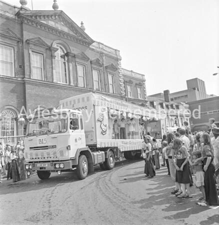 Carnival in Market Square, July 1976
