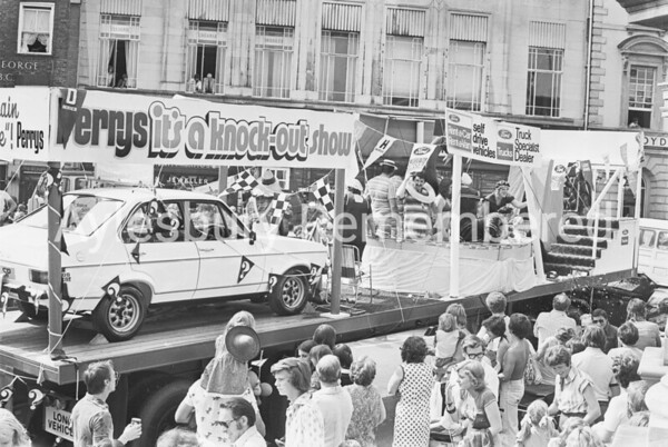 Carnival in Market Square, July 1976