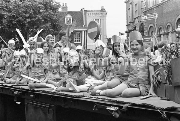 Carnival in Market Square, July 1980