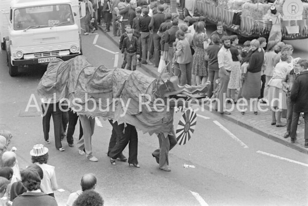 Carnival in Market Square, July 1981
