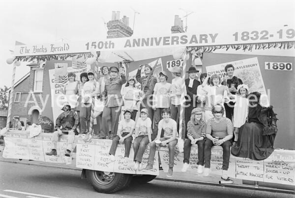Carnival in Buckingham Road, July 1982