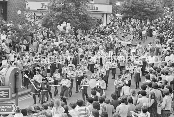 Carnival in Market Square, July 1982