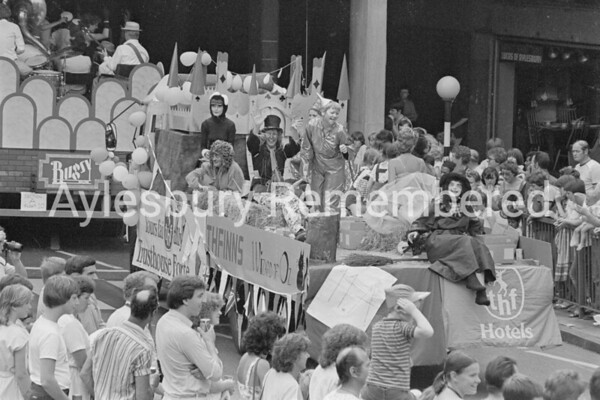 Carnival in Market Square, July 1983