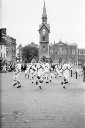 Morris Dancing in Market Square, 1965