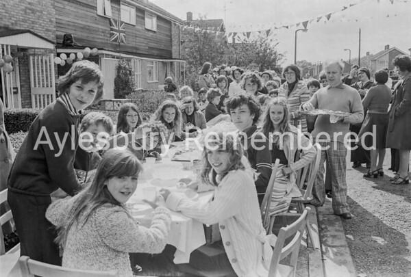 Cannock Road Jubilee street party, June 1977