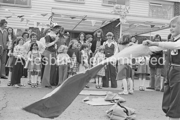 Grenville Green Jubilee party, June 1977