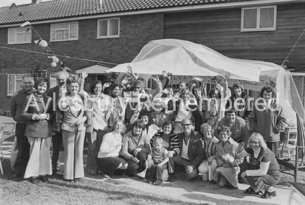 Kinson Green Jubilee street party, June 1977