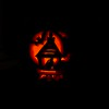 Halloween jack-o-lantern 2004
