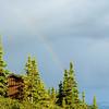 Camp Denali latrine on a stormy day.  Denali National Park, Alaska, June 2012