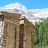 Witness the latrine at the Plain of Six Glaciers Teahouse in Banff National Park, Alberta, Canada.  It wins the prize for the longest line at a latrine, in spite of the four mile uphill hike to get there. July 2010