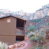 The Three-Mile Resthouse on the Bright Angel Trail.  Grand Canyon National Park, April 2011