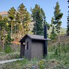 One of the most beautiful latrines in one of the most beautiful campgrounds we've ever loved!  Parkside Campground in the Custer Gallatin National Forest, Montana.  August 3, 2021