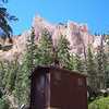 This latrine in Bryce Canyon is the closest US contender to the Norwegian latrine. Bryce Canyon National Park, Utah, October 2006