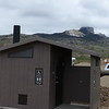The Nature Conservancy of Wyoming operates the Heart Mountain Preserve outside of Cody.  That's Heart Mountain in the background, with this lovely latrine in the foreground!  May 16th, 2014