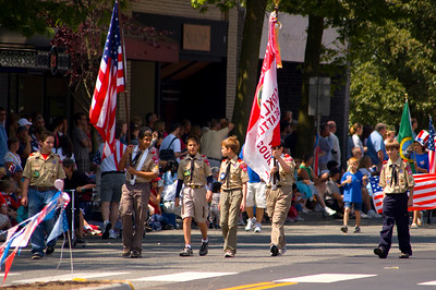4th of July Parade, Kirkland WA
