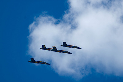 Blue Angels over Seattle