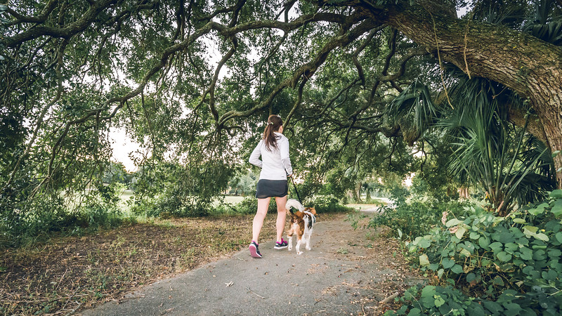 AnnElise and Grits in New Orleans City Park