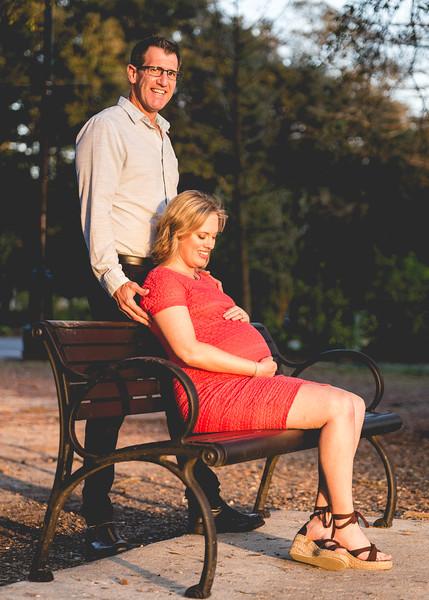 Beth and Art - Maternity Photo Shoot