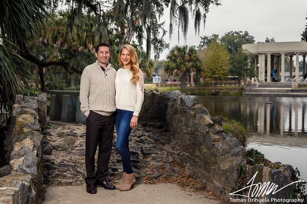 Jill Marie and Chris Kenyon