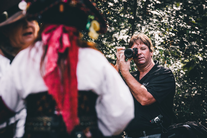 Kirt doing his thing at the 2016 Louisiana Renaissance Festival